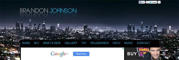 BrandonJohnsonWebsite