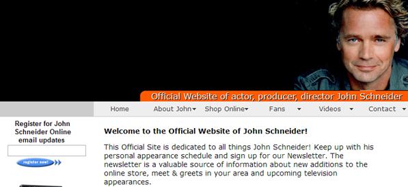 JohnSchneiderWebsite