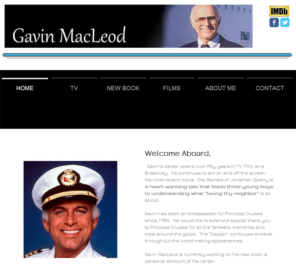 Tv Time Machine Radio Interview With Gavin Macleod Of The Love
